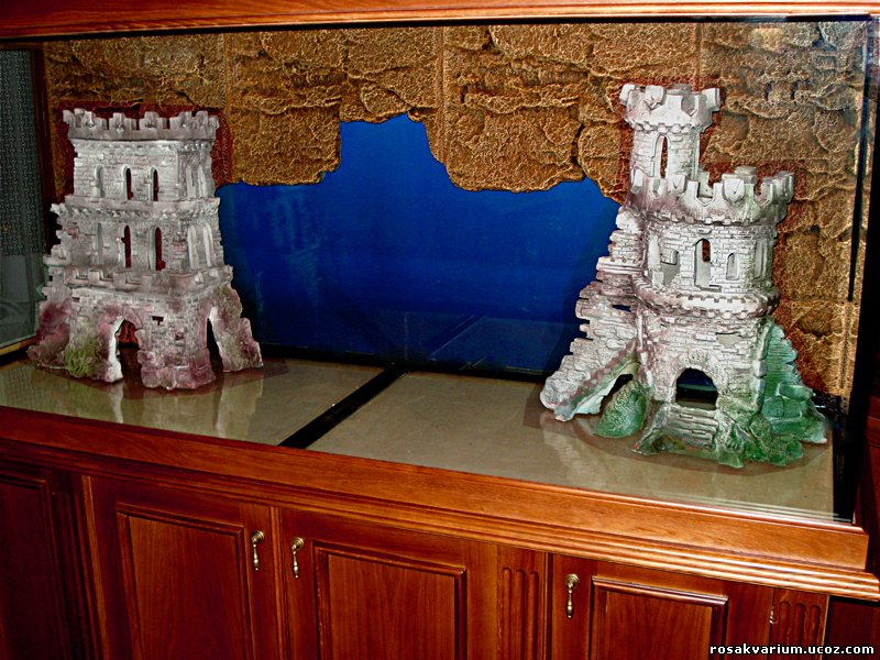 Как сделать замок на аквариум