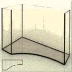 Изготовим аквариум сложной формы, фото