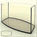 Изготовим аквариум с выпуклыми стеклами, фото формы