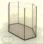 Производим аквариумы шестигранники, фото формы